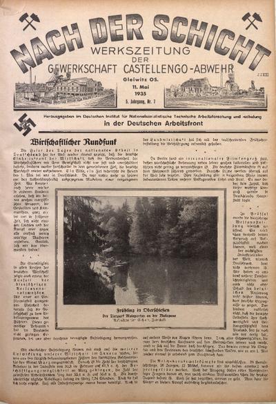 Nach der Schicht, 1935, Jg. 5, Nr. 7