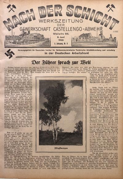 Nach der Schicht, 1935, Jg. 5, Nr. 9