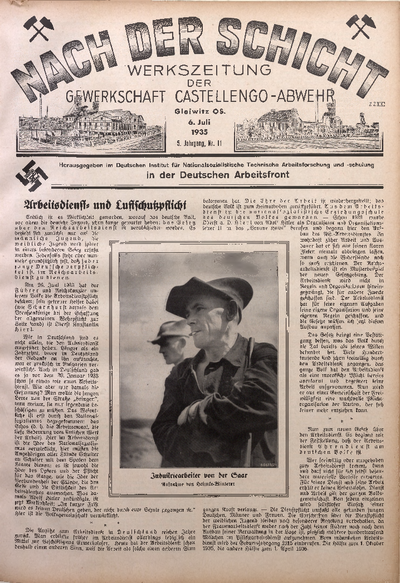 Nach der Schicht, 1935, Jg. 5, Nr. 11