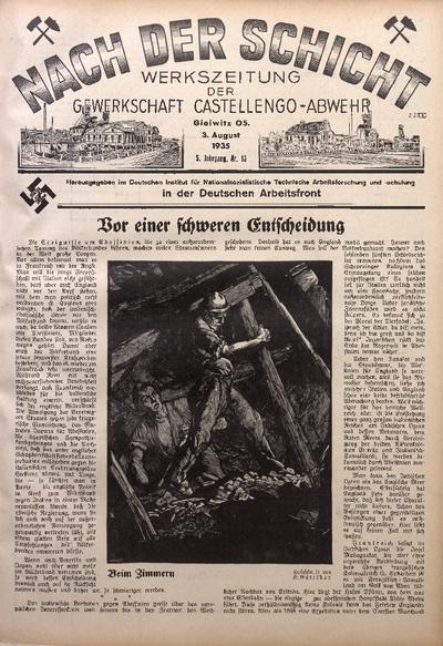 Nach der Schicht, 1935, Jg. 5, Nr. 13