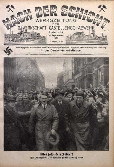 Nach der Schicht, 1935, Jg. 5, Nr. 16