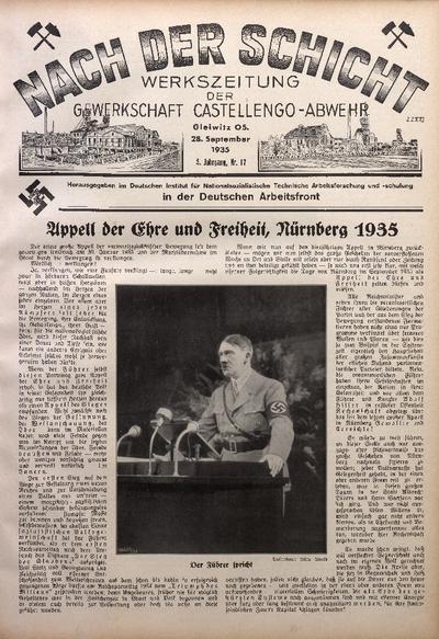Nach der Schicht, 1935, Jg. 5, Nr. 17