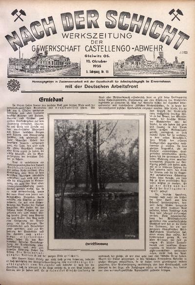 Nach der Schicht, 1935, Jg. 5, Nr. 18