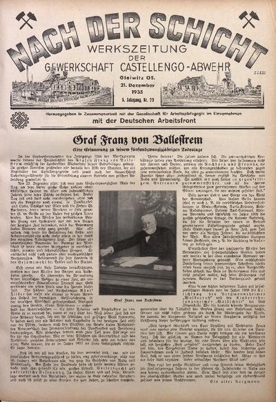 Nach der Schicht, 1935, Jg. 5, Nr. 23