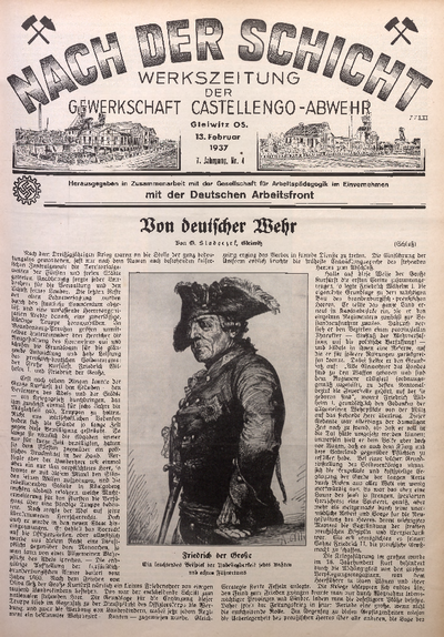 Nach der Schicht, 1937, Jg. 7, Nr. 4