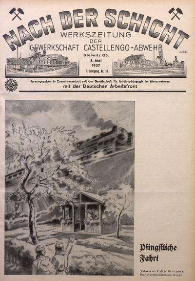 Nach der Schicht, 1937, Jg. 7, Nr. 10