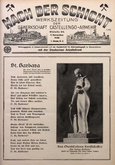 Nach der Schicht, 1938, Jg. 8, Nr. 25