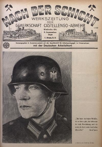 Nach der Schicht, 1939, Jg. 9, Nr. 18