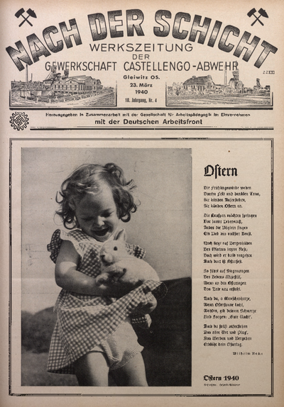 Nach der Schicht, 1940, Jg. 10, Nr. 4