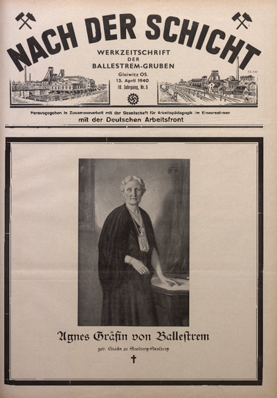 Nach der Schicht, 1940, Jg. 10, Nr. 5
