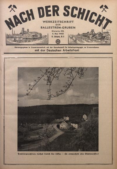 Nach der Schicht, 1940, Jg. 10, Nr. 6