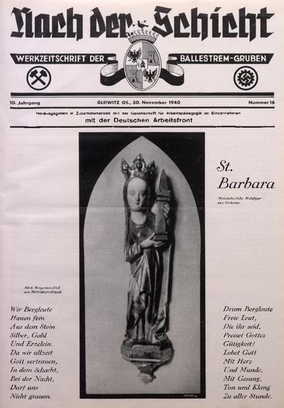 Nach der Schicht, 1940, Jg. 10, Nr. 16