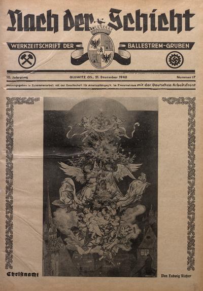 Nach der Schicht, 1940, Jg. 10, Nr. 17