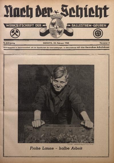 Nach der Schicht, 1941, Jg. 11, Nr. 3