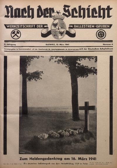 Nach der Schicht, 1941, Jg. 11, Nr. 4