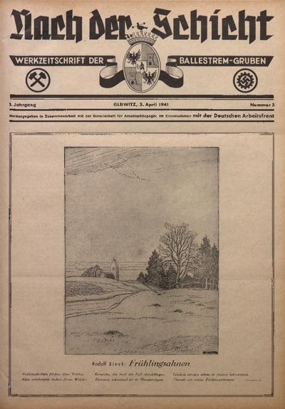 Nach der Schicht, 1941, Jg. 11, Nr. 5