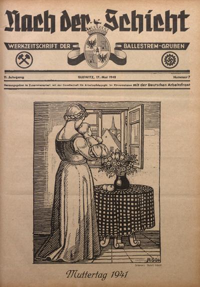 Nach der Schicht, 1941, Jg. 11, Nr. 7