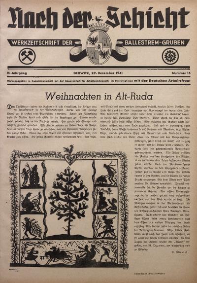 Nach der Schicht, 1941, Jg. 11, Nr. 16