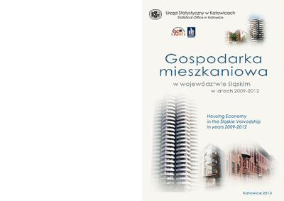 Gospodarka mieszkaniowa w województwie śląskim w latach 2009-2012