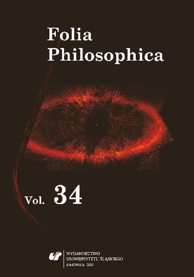 Folia Philosophica. T. 34, Forms of criticism in philosophy and science