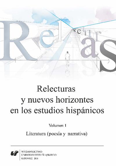 Relecturas y nuevos horizontes en los estudios hispánicos. Vol. 1, Literatura (poesía y narrativa)
