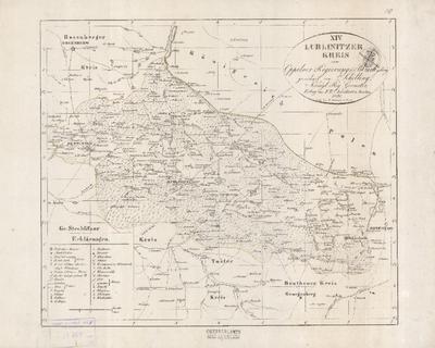 XIV. Lublinitzer Kreis zum Oppelner Regierungs- Bezirk gehörig