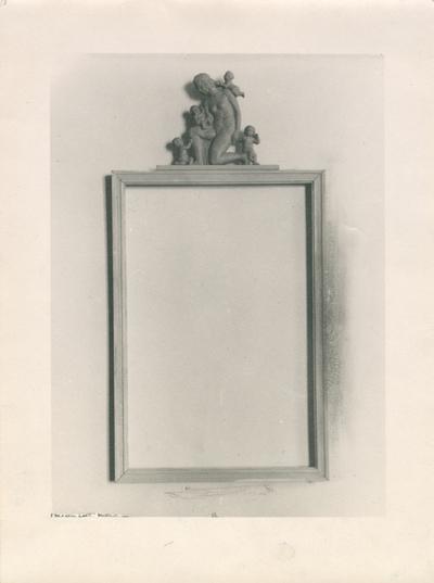 Spegel. Fritz Johanssons gesällprov, 1920-tal