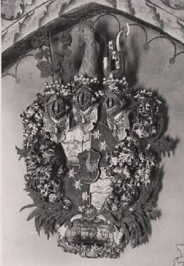 Rosenhane, Hysby-Rekarne kyrka 1942