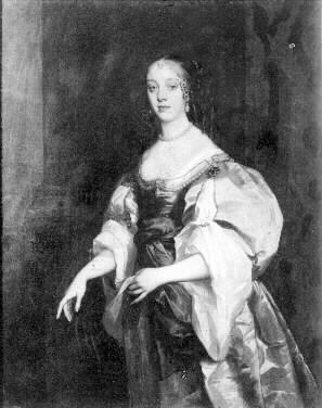 Drottning Katarina av England.