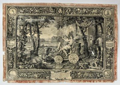 Kopparstick, Jord från sent 1600-tal