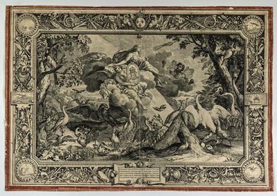 Kopparstick, Luft från sent 1600-tal