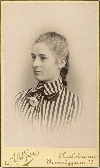 Hedvig Schenström på 1880-talet