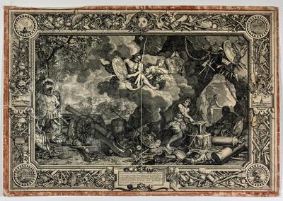Kopparstick, Eld från sent 1600-tal