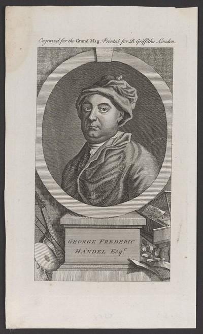 Porträt Georg Friedrich Händel