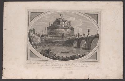 Engelsbrücke und Engelsburg, Rom