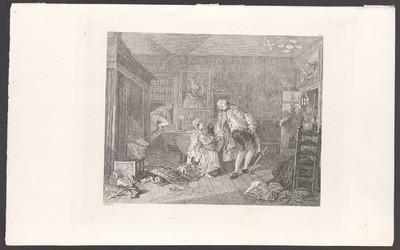 Marriage A la Mode, Blatt 5: Der Tod des Grafen