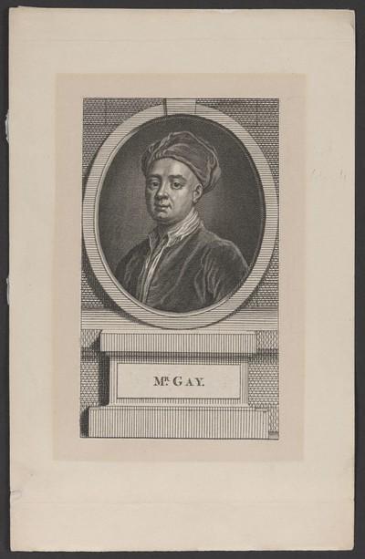 Porträt John Gay (1685-1732)