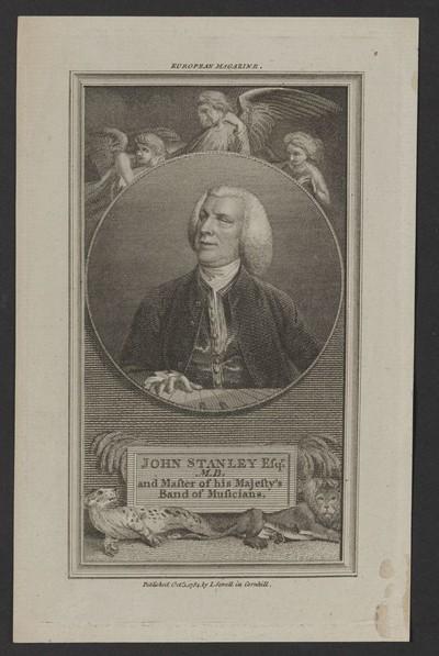 Porträt John Stanley (1713-1786)