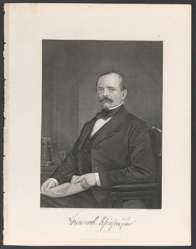 Porträt Otto von Bismarck (1815-1898)