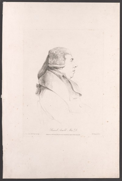 Porträt Samuel Arnold (1740-1802)