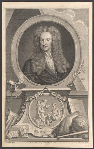 Porträt Sir Isaac Newton (1643-1727)