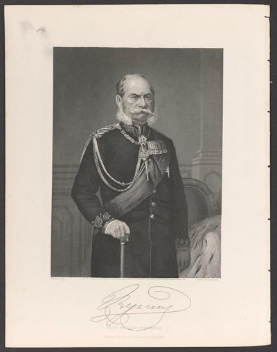 Porträt Wilhelm I., König von Preußen und Kaiser des Deutschen Reiches (1797-1888)