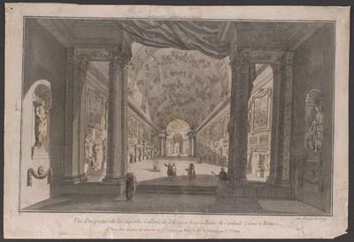Rom, Gemäldesaal in Palast des Kardinals Colonna