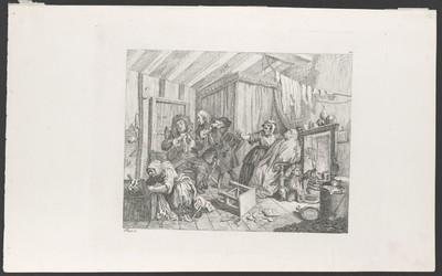 The Harlot's Progress, Blatt 5: Stirbt, während sich die Ärzte streiten