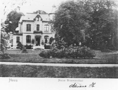 Het buiten met tuin, wandelbos, vijver en koepel, genaamd Bloemendaal werd in 1833 gekocht door de moeder van de eerste Nijmeegse gemeentearchivaris, Diederik van Schevickhaven, die er enige jaren van zijn jeugd doorbracht. De villa werd ook enige tijd Klambir-Lima (5 klapperbomen) genoemd door de toenmalige bewoner J.A. van Zijp. In  1931 werd de villa verkocht ter afbraak en herinnert slechts een straatnaam aan het buiten. In het adresboek werd Kerkstraat 81 opgevoerd