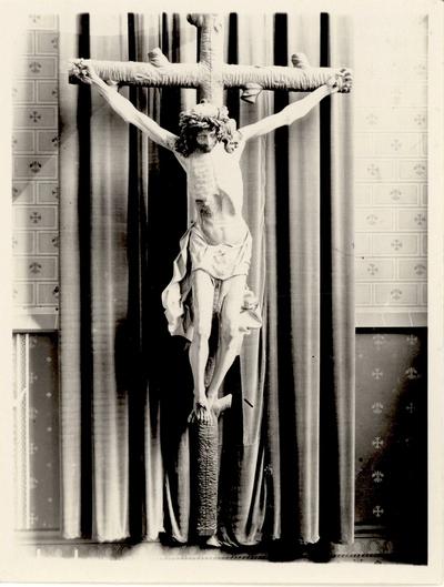 Het zogenoemde Crucifix van Kalkar in de Rooms Katholieke Sint Antonius Abtkerk