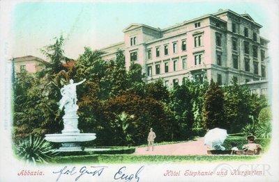 Abbazia : Hotel Stephanie und Kurgarten