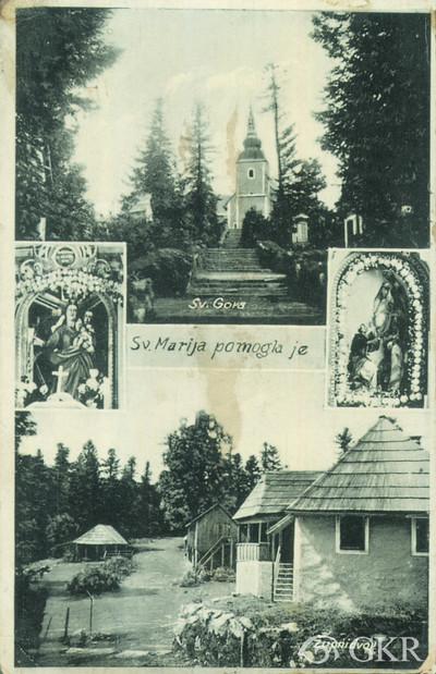 Sv. Marija pomogla je: Sv. Gora; Župni dvor.