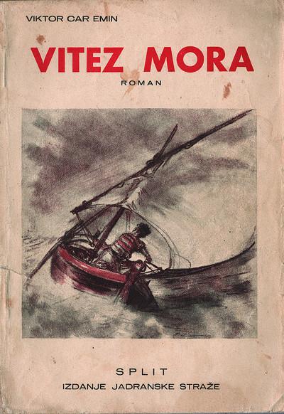 Vitez mora: roman (prednje korice)