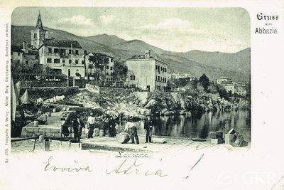 Gruss aus Abbazia. Lovrana.
